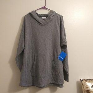 NWT Gray columbia plus size hoodie